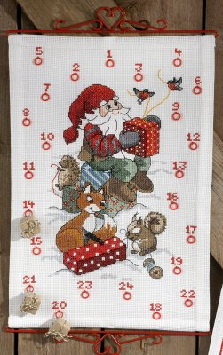 click here to view larger image of Elf Wiwth Squirrel bellpull (chart)
