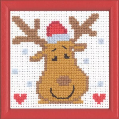click here to view larger image of MFK Moose (counted cross stitch kit)