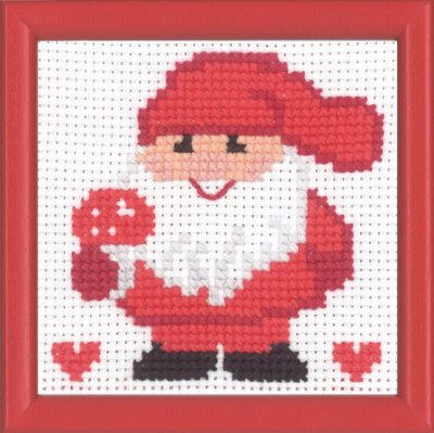 click here to view larger image of MFK Elf (counted cross stitch kit)
