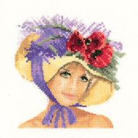 click here to view larger image of Megan - Elegance Miniatures (27ct) (counted cross stitch kit)