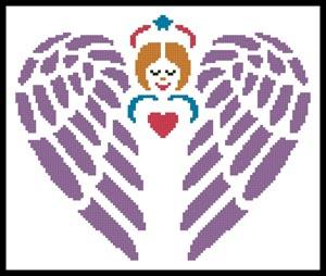 click here to view larger image of Little Guardian Angel  (Joni Prittie) (chart)