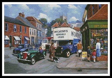 click here to view larger image of High Street 1950s  (Kevin Walsh) (chart)
