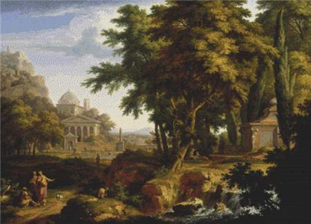 click here to view larger image of Arcadian Landscape 2 (chart)