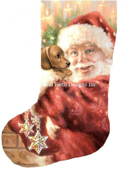 click here to view larger image of Stocking Dachshund For Christmas (chart)