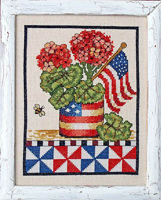 click here to view larger image of Patriotic Geranium (chart)