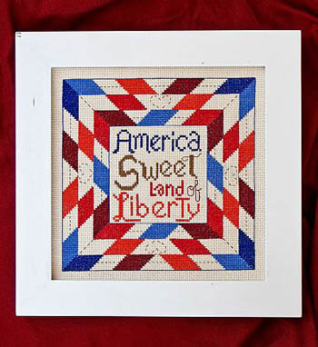 click here to view larger image of America Sweet Land of Liberty (chart)