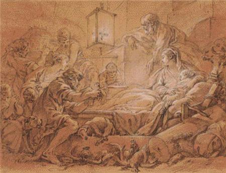click here to view larger image of Adoration of the Shepherds (chart)