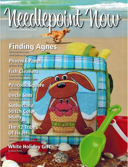 click here to view larger image of Needlepoint Now July/August 2015 (magazines)