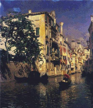 click here to view larger image of Canal In Venice, A (chart)