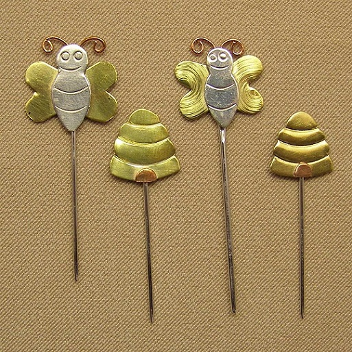 click here to view larger image of Counting Pins - Bee and Hive Collection (accessory)