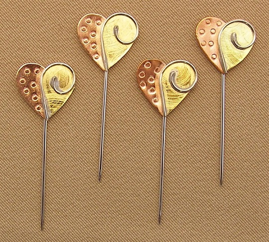 click here to view larger image of Counting Pins - Hearts Collection (accessory)