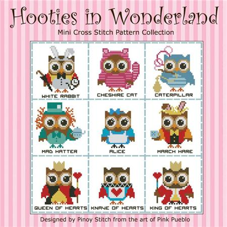 click here to view larger image of Hooties In Wonderland (chart)