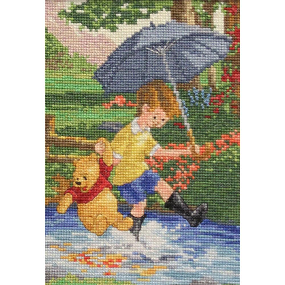 click here to view larger image of Christopher Robin - Disney Dreams Collection (counted cross stitch kit)