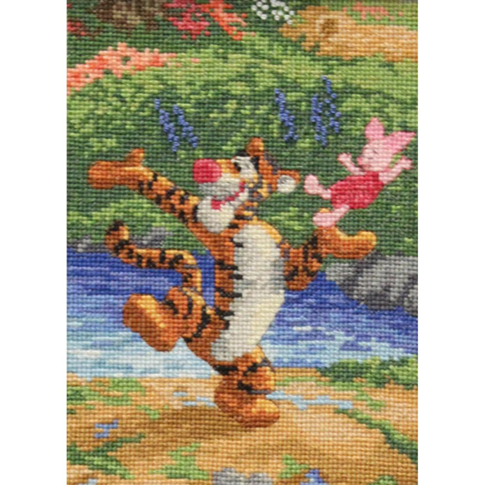 click here to view larger image of Tigger and Piglet - Disney Dreams Collection (counted cross stitch kit)