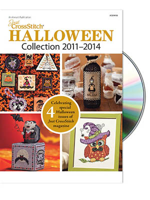 click here to view larger image of Just Cross Stitch Halloween Collection - DVD (DVD)