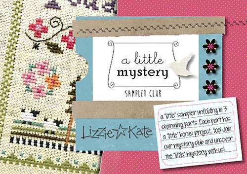 A Little Mystery Sampler Club - click here for more details about chart