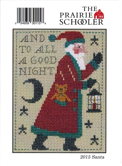 click here to view larger image of 2015 Schooler Santa (chart)