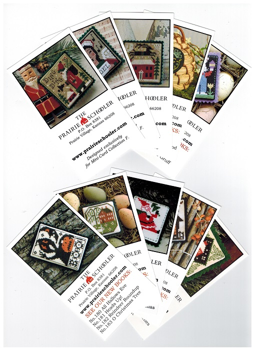 click here to view larger image of Mini Card Collection F - Ding Ding (chart)