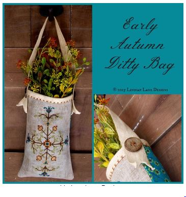 Early Autumn Ditty Bag (Limited Edition Kit - Pre-order) - click here for more details about counted canvas kit