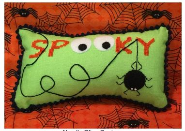 click here to view larger image of Spooky (Limited Edition - Pre-order) (counted cross stitch kit)