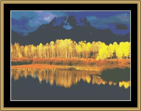 click here to view larger image of Fall Reflections (chart)