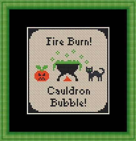 click here to view larger image of Cauldron Bubbles (chart)