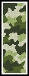 click here to view larger image of Camouflage Bookmark (chart)