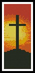 click here to view larger image of Sunset Cross Bookmark (chart)