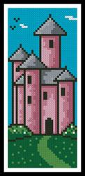 click here to view larger image of Princess Castle Bookmark (chart)