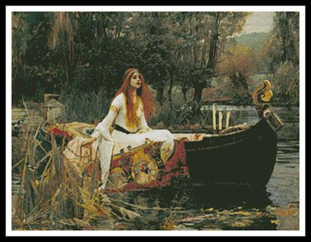 click here to view larger image of Lady of Shalott, The  (John William Waterhouse) (chart)