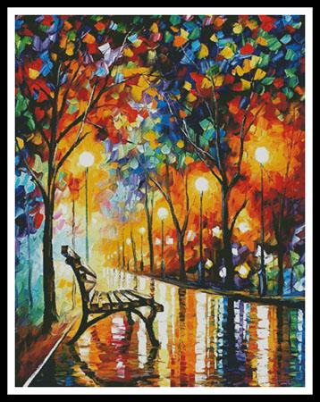 click here to view larger image of Loneliness of Autumn (Large)  (Leonid Afremov) (chart)