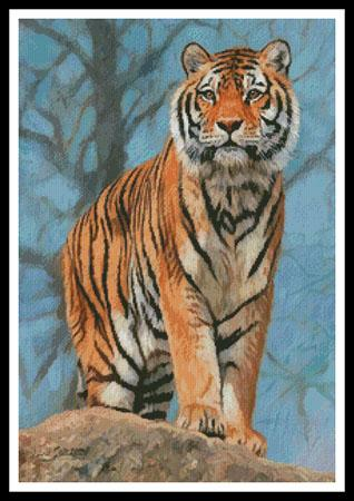 click here to view larger image of Amur Tiger Guard (chart)