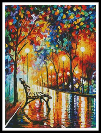 click here to view larger image of Loneliness of Autumn (Regular)  (Leonid Afremov) (chart)