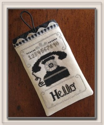 click here to view larger image of Hello Phone Case (chart)