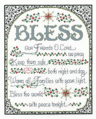 click here to view larger image of Bless The World With Peace (chart)