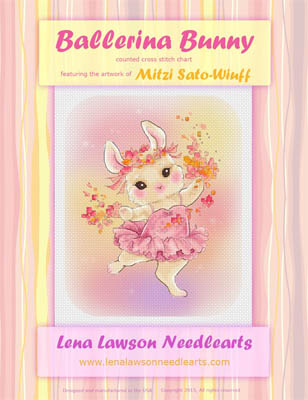 click here to view larger image of Ballerina Bunny - Mitzi Sato-Wiuff (chart)