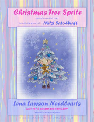 click here to view larger image of Christmas Tree Sprite - Mitzi Sato-Wiuff (chart)