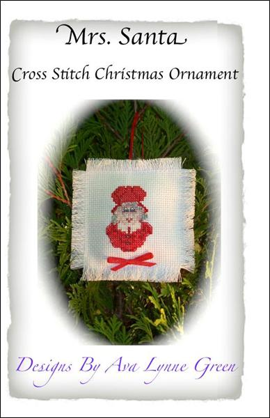 click here to view larger image of Mrs Santa Christmas Ornament (chart)
