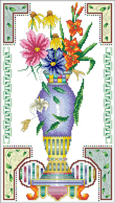 click here to view larger image of Victorian Vase (chart)
