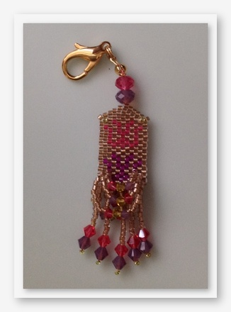 click here to view larger image of Not Necessarily A Nut Fob (bead kit)