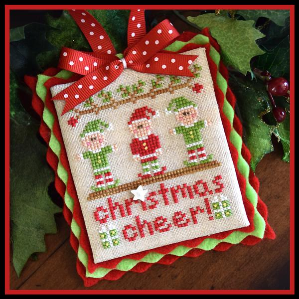 click here to view larger image of Christmas Cheer! - Classic Ornament Series 5 (chart)