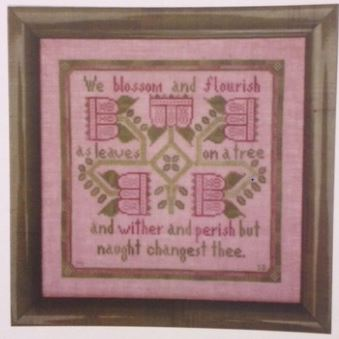 click here to view larger image of Flourish (counted cross stitch kit)