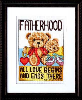 click here to view larger image of Fatherhood (chart)