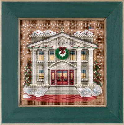 click here to view larger image of City Bank (2015) (counted cross stitch kit)