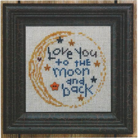 click here to view larger image of Love You To The Moon And Back (chart)