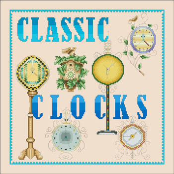 click here to view larger image of Classic Clocks (chart)