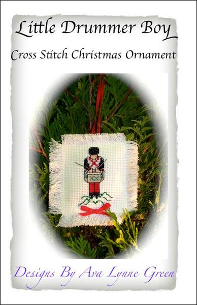 click here to view larger image of Little Drummer Boy Christmas Ornament (chart)