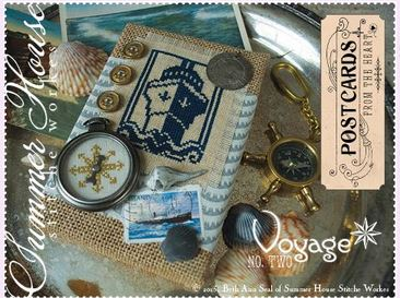 click here to view larger image of Postcards From The Heart No 2 - Voyage (chart)