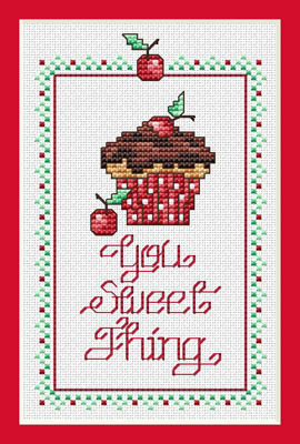 click here to view larger image of Sweet Thing (chart with charms/buttons)