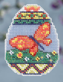 click here to view larger image of Butterfly Egg (counted cross stitch kit)